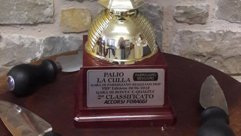 Palio del Parmigiano Reggiano La Culla 8° Edizione