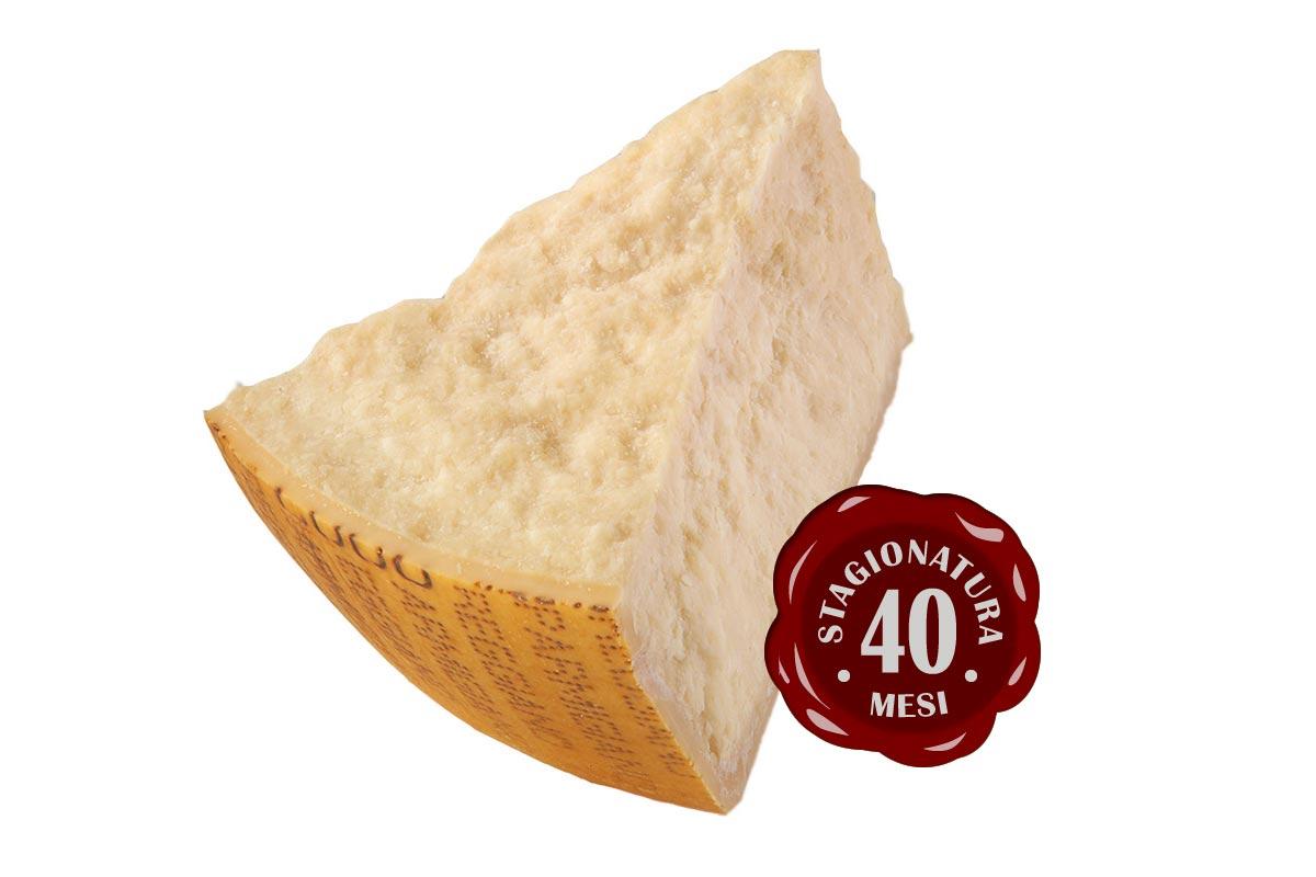 Parmigiano Reggiano 40 mesi Prodotto di Montagna, Latteria Garfagnolo